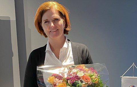NY LEDER: Gry Løkaas Kleppe ble valgt lørdag. Foto: NFF Telemark
