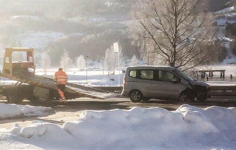 Bilene ble fjernet i løpet av en halv time.