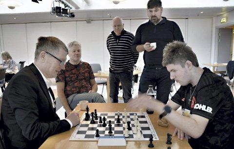 Spilte i 2019: Roger Hojem spilte mot Vetle Koth Tøfte i Sunndal for halvannet år siden.