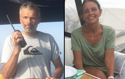Ringt kystvakten: Petter Asheim og Anne Liten Myhre.