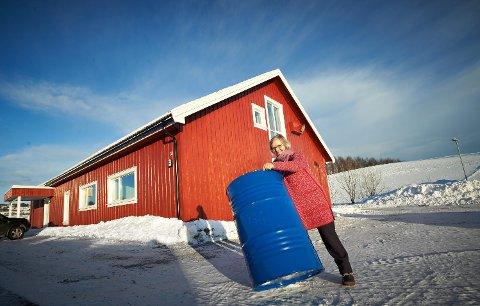 HAVFRUE: I 2018 flyttet daglig leder Kari Øye og de tre andre Havfrue-gründerne inn i nybygde produksjonslokaler på Sundsøya i Inderøy. De har hatt jevn omsetningsvekst de siste årene, men denne uken har det eksplodert.