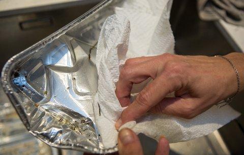 SKAPER FORVIRRING. Mange nordmenn vet ikke at stekeformer skal sorteres med glass- og metallavfall. Bare husk å skylle eller tørke ut av formen først. Foto: Johnny Syversen