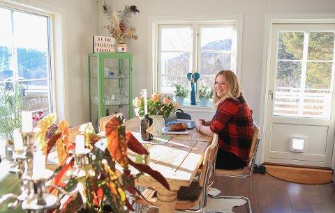 Maria Fresvik Huset med raret i