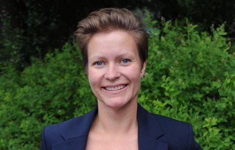 SIKRET FLERTALL: Ida Eliseussen fra Sp stemte sammen med Frp og Høyre, og sikret dermed flertall for Simon Kirkebys byggeprosjekt syd for Hakadal kirke.