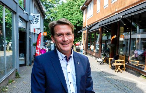 UTFORDRINGER: - Vestfold ligger nær hovedstadregionen, men samtidig så langt ute i periferien at vi har noen distriktsutfordringer, sier stortingsrepresentant Kårstein Eidem Løvaas.
