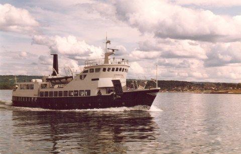 «Lykkeper» i farta sommeren 1984.