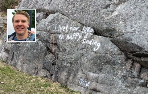 REAGERER: Sverre Tobias Dukene (H) tok til orde for å anmelde og fjerne taggingen på Randvik og Kjempesteinsmyra i onsdagens møte i miljø- og teknisk komité. Det fikk han alles gehør for. Nå anmodes kommunedirektøren om å ta grep.