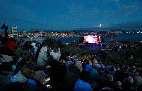 Musikkfestuka må foreløpig avlyse deler av arrangementet. Blant annet på Nyholmen.