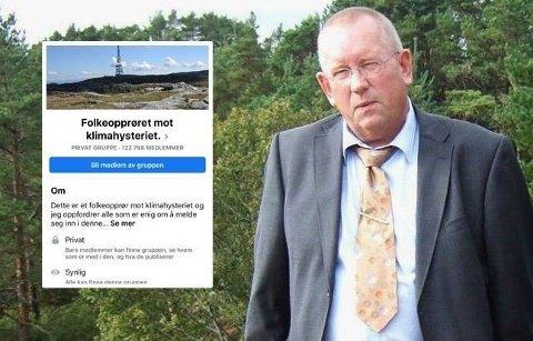 MANNEN BAK GRUPPEN: Knut Amundsen har fått blod på tann etter at gruppen han etablerte tar av på Facebook. Foto: Privat