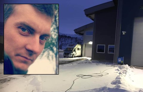 Ørjan Larsos fra Saltdal bistår i arbeidet med grensetestingen i Junkerdalen. Foto: Privat