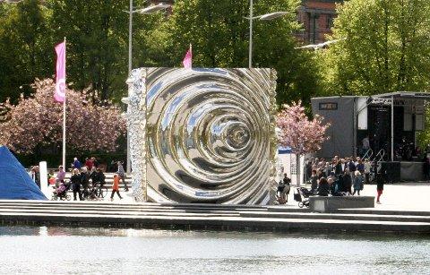 Bård Breivik laget denne kuben under Festspillene i 2010.