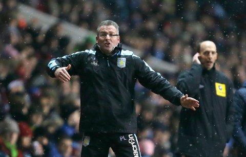 Paul Lambert har ikke klart å få sving på Ipswich etter at han overtok som manager på Portman Road.(AP Photo/Alastair Grant)