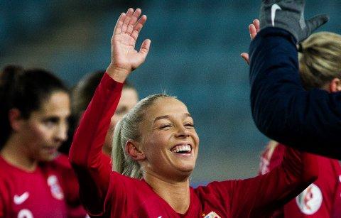 Rikke Nygard debuterte for landslaget i det som ble en ellevill kamp.