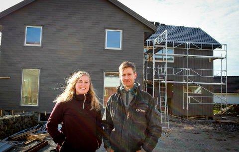 Praktiske: Hilde og Thomas gjør det meste av det innvendige arbeidet selv.