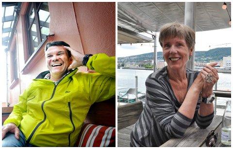 KAN VINNE PRIS: Bjørn Olav Nordahl og Karin Fossum er begge nominerte til Riverton-prisen.