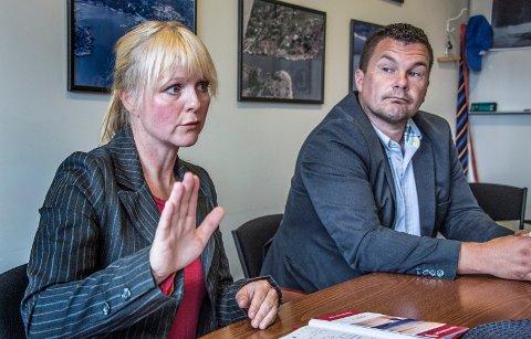 Mona Vauger mener  det ikke er noen grunn til å gå noen ny runde med sammenslåing med Fredrikstad for å løse problemene, noe Høyres Kim- Erik Ballovarre har tatt til orde for.