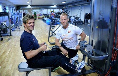 Satser: Espen Amundsen og Jørgen Wahlberg gjør treningssenteret Active Trening på Lisleby større.