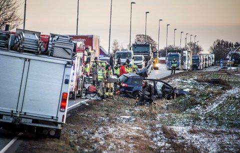 Antall trafikkdrepte i Østfold viset en  synkende tendens. Fem personer omkom i fylket i 2018.