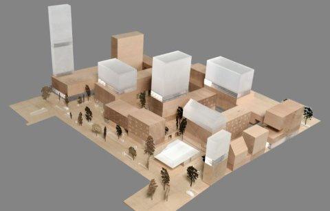 Illustrasjon fra prosjektet «Kabelgata» i Oslo.