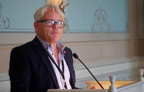 Var statssekretær: Frps Bjørnar Laabak hadde permisjon fra Fredrikstad-politikken fra desember 2016 til januar 2018, bortsett fra bystyrevervet. Han var statssekretær i perioden.