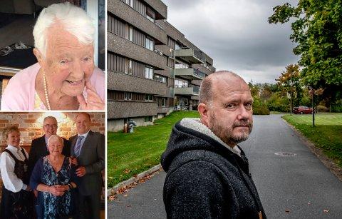Thorbjørn Johansen og hans to søsken er frustrerte over at moren Palma Johansen har ligget på Fredrikstad korttidssenter i over sju uker.