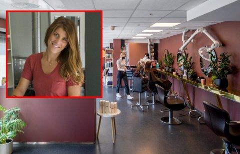 Eier av Lucky Look salongen på Ørebekk er fornøyd med resultatet hun og kollegene oppnådde i fjor. Nå har hun innarbeidet salongen og føler det går riktig vei.