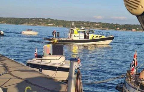 Politi og tolletaten har storkontroll sjøveien inn til Norge nå i ettermiddag og kveld.