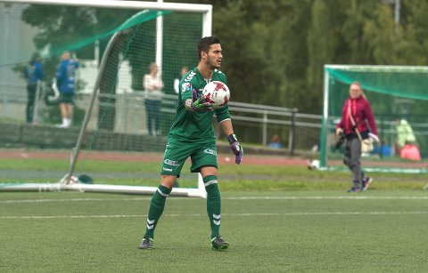 FORLENGET: Miguel Vieira har signert en ny kontrakt med Ørn, som strekker seg ut 2019-sesongen.