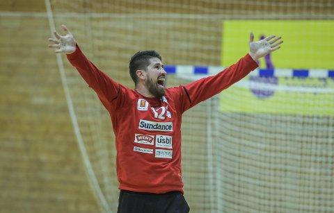 BEST: Zivojin Ilic ble kåret til banens beste spillere da Falk slo Drammen onsdag kveld.