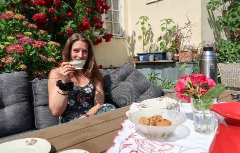 STOLT: Marte Amalie Jonsrud Kaardahl er attraktivitetsbygger i Horten. - Det er kjempegøy at Horten får så fin omtale, sier hun.