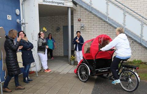 Våler fikk sin tursykkel for eldre i mai - til våren kan det bli et tilbud også i Kongsvinger.