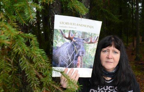 TROR PÅ DETTE: – Dette har jeg veldig stor tro på, sier Gunn Marit Lindmoen i Våler Pp. HUn vil at partiet nå skal fremme forslag til fylkestinget.