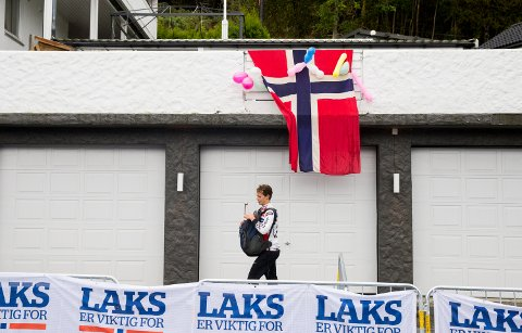 VM-feber langs løypene i Bergen.