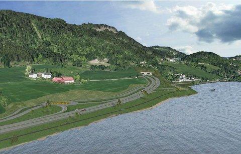 Rådmannen i Lillehammer anbefaler tunnelinnslag for den nye E6en sør i Øyresvika. Det har vært stort lokalt engasjement for å velge søndre tunnellinnslag her.