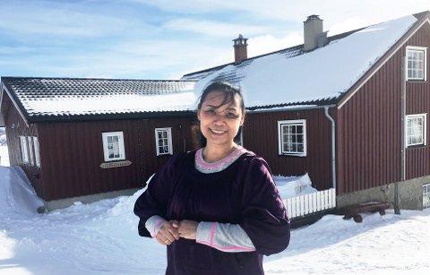 DROPPER PÅSKEN: Daeng Sætrom og hennes familie på Haverdalseter Turisthytte i Rondane synes det er vemodig å ikke ha åpent i vinter.