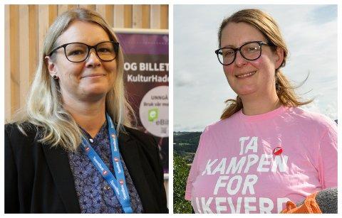 VIKAR: Vibeke Buraas Dyrnes (til venstre) vikarierer for Mari Svenbalrud i kommunestyret ut året.