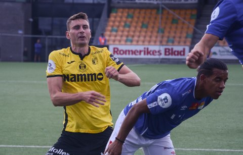 Marius Alm topper spillebørsen etter lørdagens kamp mot Sogndal.