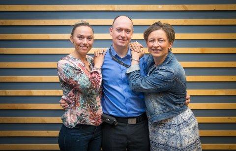 KURSHOLDERE: Eline Garlie, Martin Lillemæhlum og Marit Furuhaugen skal holde vinkurs i Hamar i høst.