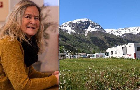 Anna Bjørkevoll seier det er bra dersom kommunen legg ut drift av bubilcampen på anbod.