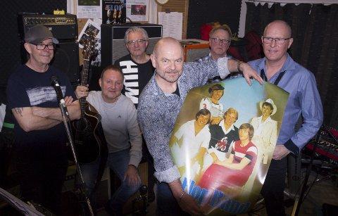 FLOP:  Flop feirer 50 år med dansemusikk og populære låter lørdag i Scandic Maritim Hall.