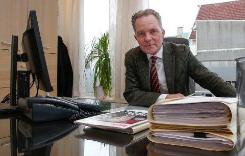 LEDER: Advokat Knut Magnus Haavik er distriktsleder for Huseiernes Landsforbund i Rogaland Nord.