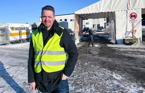 MUTERT VIRUS: Smittevernlege i Karmøy, Martin Eikrem, bekrefter to tilfeller av mutert virus i kommunen.