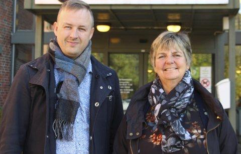 INHABILE: Både varaordfører Rune Krutå og ordfører Berit Hundåla er erklært inhabile i en sak om søknad om dispensasjon fra karantenebestemmelsene fra Eolus vind.