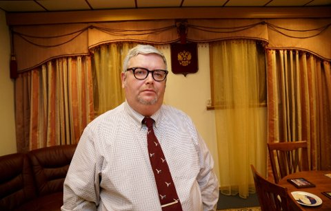Russlands generalkonsul til Kirkenes, Sergej Sjatunovskij-Bjurno. Arkivfoto