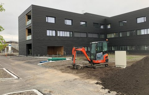 Åpner: 12. oktober er offisiell åpningsdag for nye Kirkenes sykehus.