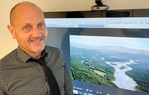 NYTT SENTRUM: - Kommunen legger til rette for utviklingen, så får andre aktører komme på banen når det gjelder å gjennomføre, sier plansjef i Hammerfest kommune Øyvind Sundquist.