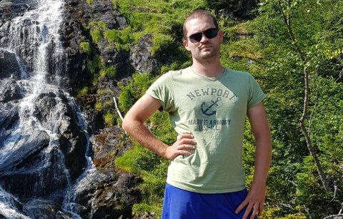 SØKER: Eros Coratti fra Bergen er interessert i journalistvikariat i nord.