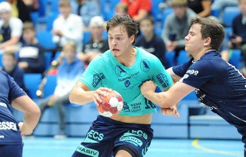 VIL TIL CUPFINALEN: Tord Haugseng scoret seks av Nærbøs 30 mål mot Viking i tredje NM-runde.