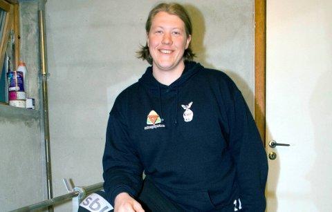Tilbake i hif: Nikolai Tykhelle Solbakken skal redde skudd for HIF i vinter. arkivfoto: arne vidar stølan