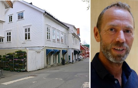 NYTT KJØP: Ivar Tollefsen og Fredensborg har allerede planer for hvordan bygningen skal benyttes.